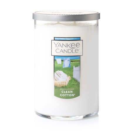 Yankee Candle Clean Cotton - Large 2-Wick Tumbler Candle