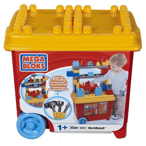 Mega Brands Mega Bloks Build'n Play Workbench