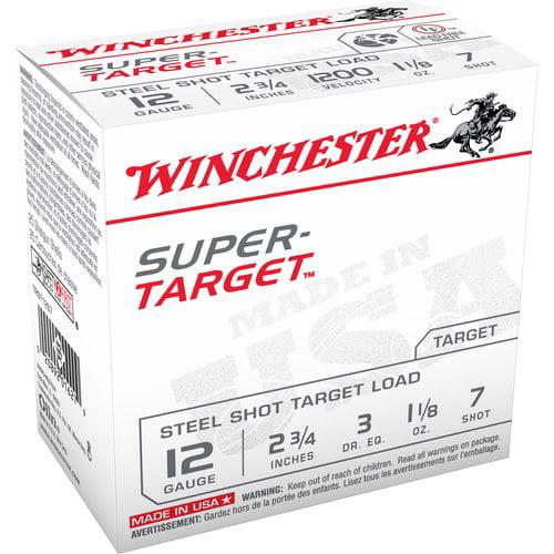 """Winchester 12GA 2-3/4"""" Super-Target Target Loads"""