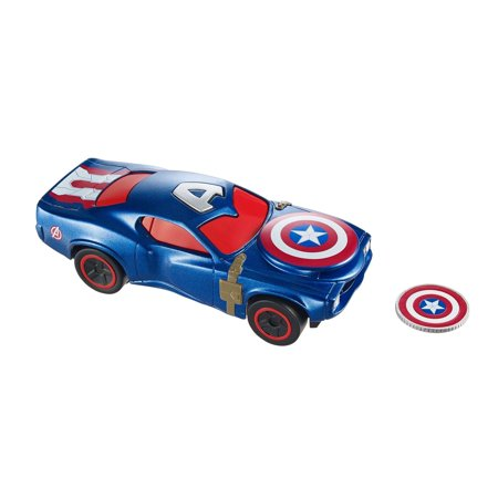 Hot Wheels Marvel Captain America Car Walmart Com