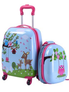 Product Image 2Pc 12   16   Kids Luggage Set Suitcase Backpack School  Travel ... edb7caec4f8d3