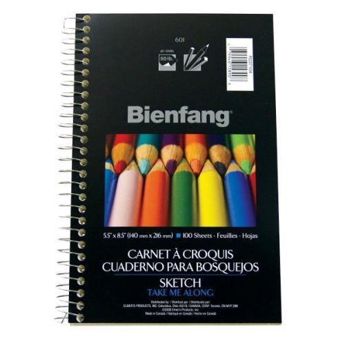"Bienfang 5 1/2"" x 8 1/2"" Sketch Book"