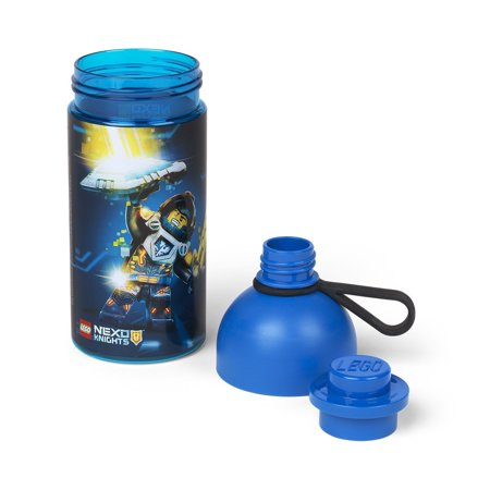 Lego 17Oz Hydration Bottle  Transparent Blue  Nexo Knight