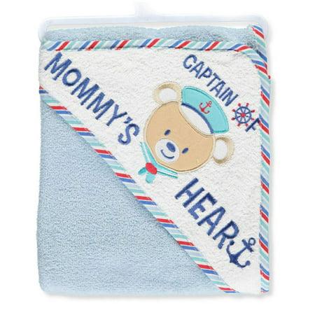 Kristen Hanah   Captain Cute   Hooded Towel