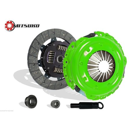 Clutch Kit Works With Ford Bronco E150 E250 E350 F150 F250 5.0L XLT XL Custom 1987 5.0L 5.8L V8 GAS OHV (Stage 1, VIN N, 4 Speed Manual Borg Warner T-18, 4 Speed Manual Ford RTS) (1987 Ford F150 Accessories)