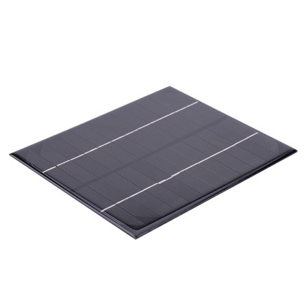 Yosoo 6W 12V DIY Solar Power Panel Charger for Battery Cell Emergency Lamp Light Outdoor Camping, Solar Panel Charger, DIY Solar Panel (Emergency Solar Panel)