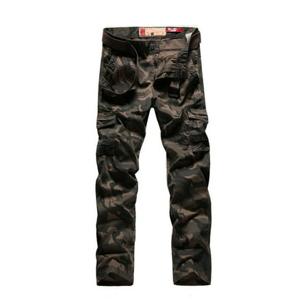 Camouflage Cargo Pants (Men's Casual Cargo Pants Military Army Camo Combat Camouflage Work Pants)