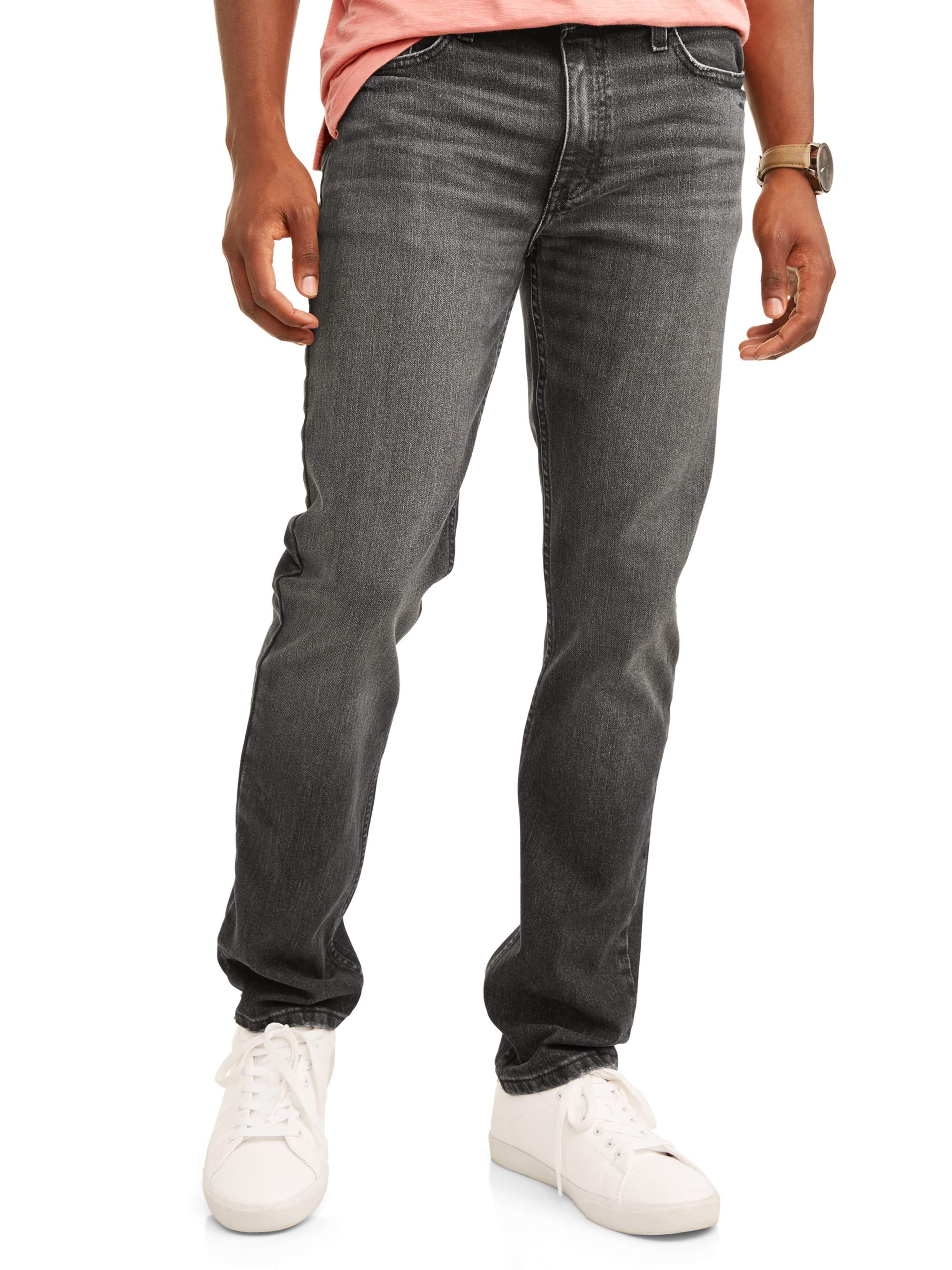 30a8c0a0ee George - George Men's Slim Straight Fit Jean - Walmart.com