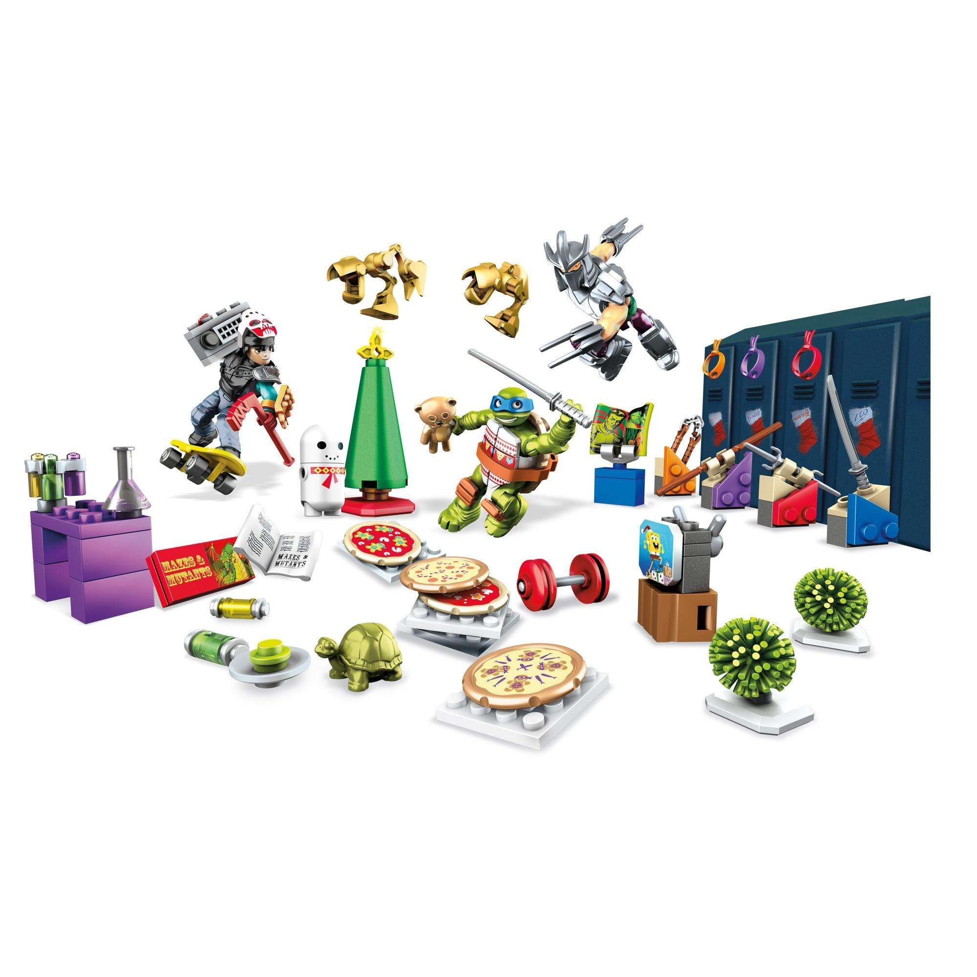 Mega Bloks Mega Tmnt Advent Calendar by Mega Brands, Inc.
