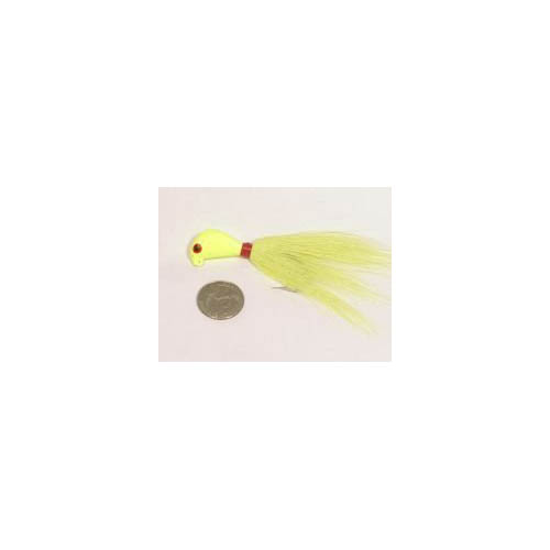 Wahoo Fishing Striper Bucktail Jig 1oz. by Wahoo