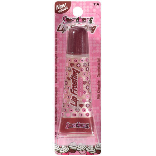 Smackers Lip Frosting Milk Chocolate Shimmery Lip Gloss, 0.42 fl oz