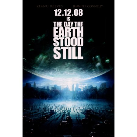 The Day The Earth Stood Still Poster Movie B  27X40