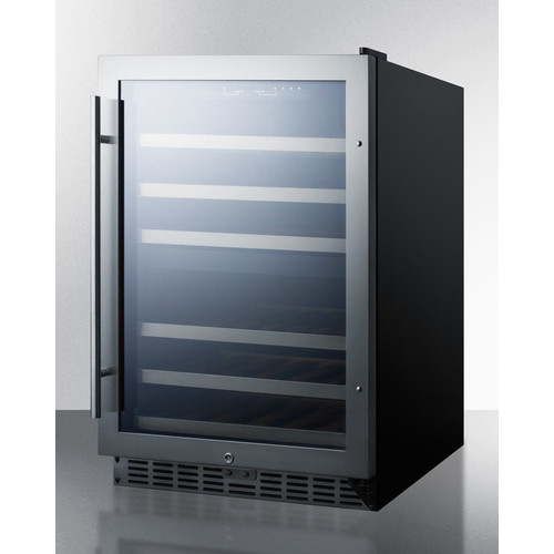 Summit Appliance Summit 24-inch 44 Bottle Dual Zone Convertible Wine Cooler