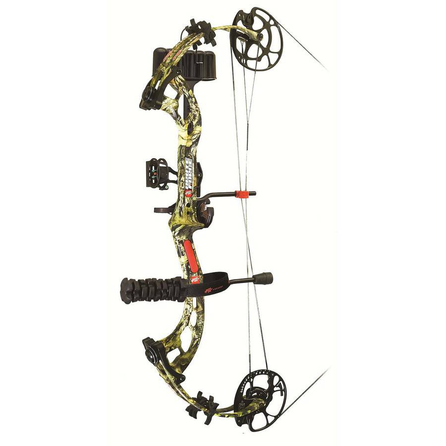 PSE Brute Force Ready-to-Shoot Bow Package, LH