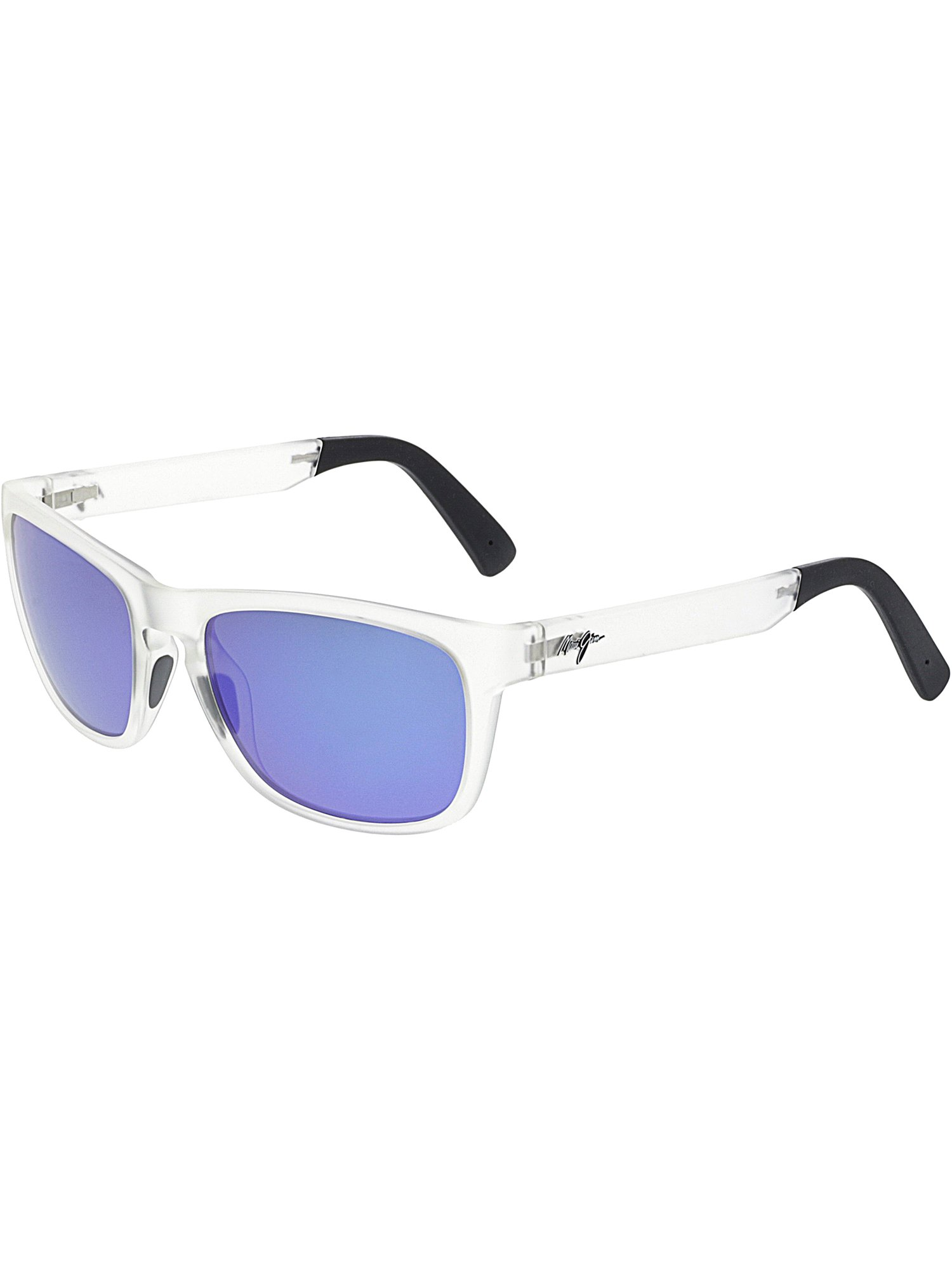 b661838eb5aa Maui Jim - Maui Jim Polarized South Swell B755-05CM Clear Rectangle  Sunglasses - Walmart.com