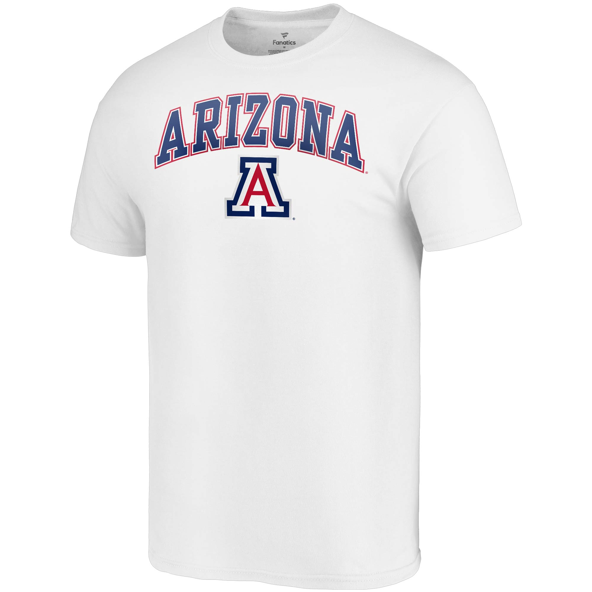 6891fc11afe Arizona Wildcats Fanatics Branded Campus T-Shirt - White - Walmart.com