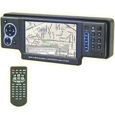 "NITRO BMW-4.2 MAP 4"" One Din Digital Panel Touch Screen Tri-Zone System (Black) - New"
