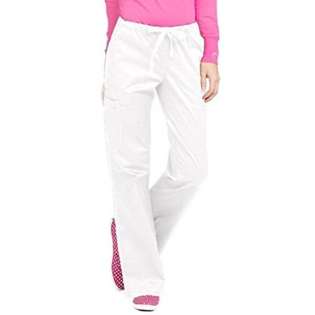 Peaches MC2 Layla Pant Scrub Bottoms White Large