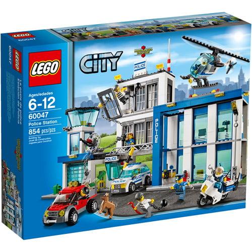 LEGO City Police Station Building Set - Walmart.com