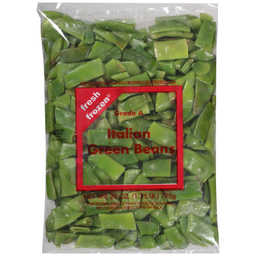 Fresh Frozen Italian Green Beans, 28 oz