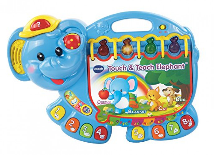 VTech Touch and Teach Elephant Book by V Tech