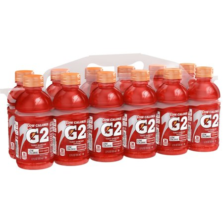 G2 Thirst Quencher Low Calorie Sports Drink, Fruit Punch, 12 Fl Oz, 12