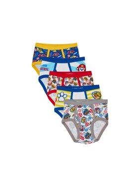 Nickelodeon PAW Patrol Boys Underwear Briefs, 5 Pack (Little Boys & Big Boys)