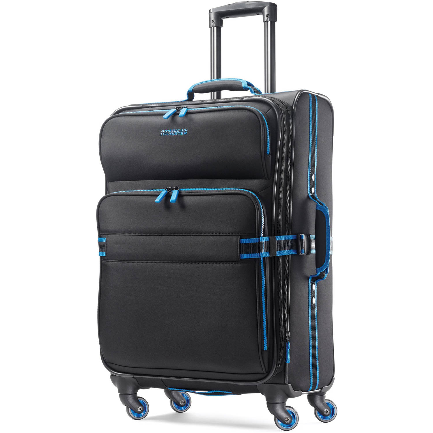 """American Tourister Exo Eclipse 24"""" Softside Spinner Luggage"""