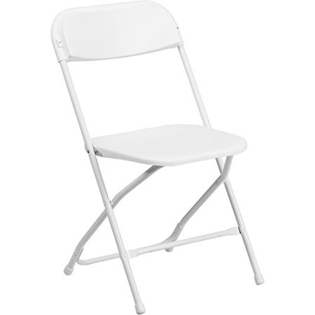 HERCULES Series 800 lb. Capacity White Plastic Folding Chair, Fast shiping,Brand Summer Infant