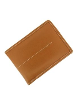 9b9cfe615eb5 Product Image VMW406 James Tan Leather Wallet - 6 Credit Cards Slots. Visol  Products