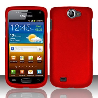 Hard Rubberized Case for Samsung Galaxy Centura S738C -