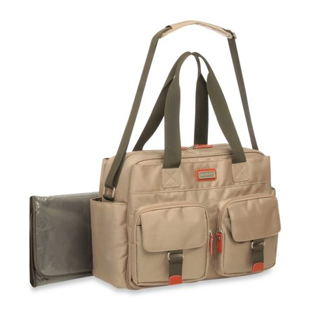 carters utiliyy starter duffle diaper bag in khaki. Black Bedroom Furniture Sets. Home Design Ideas