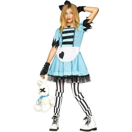Wild Wonderland Teen Halloween Costume - Cheshire Cat Alice In Wonderland Costume
