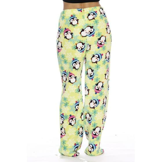 Just Love - Women s Plush Pajama Pants - Petite to Plus Size Pajamas ... bfff68b44