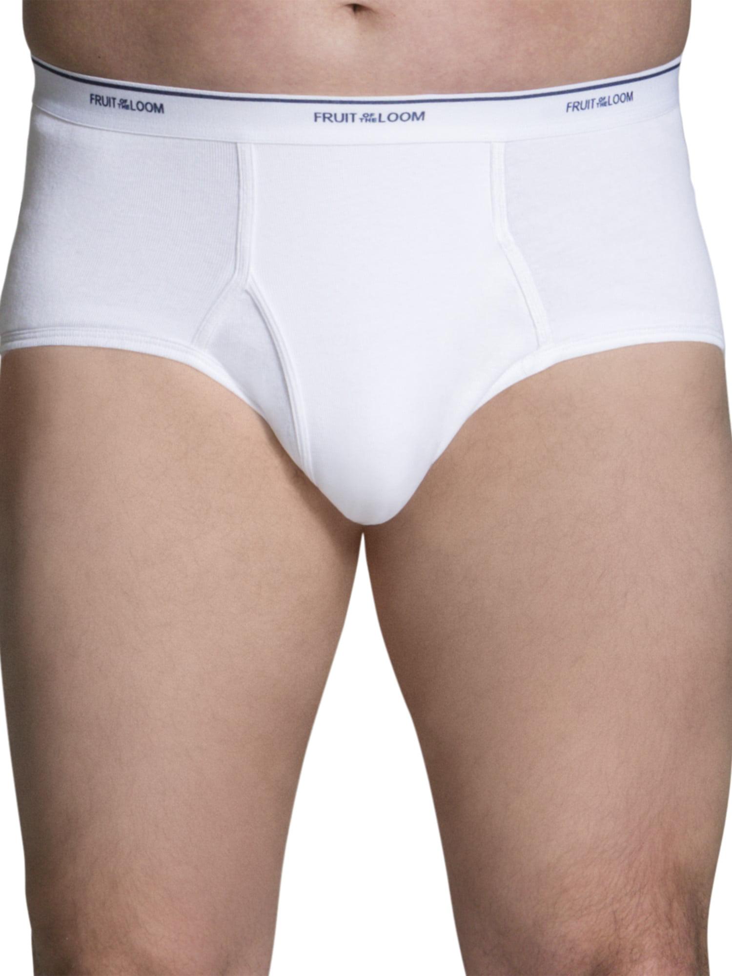 Fruit of the Loom Mens Mens Classic Slip 3 Pack Underwear