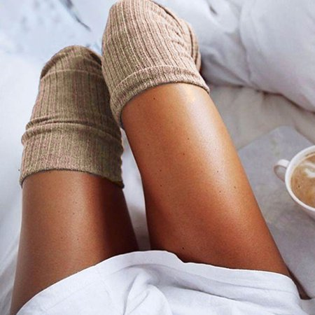 Girls Ladies Women Thigh High Over the Knee Socks Long Cotton Stockings Warm - Halloween Knee High Socks Walmart