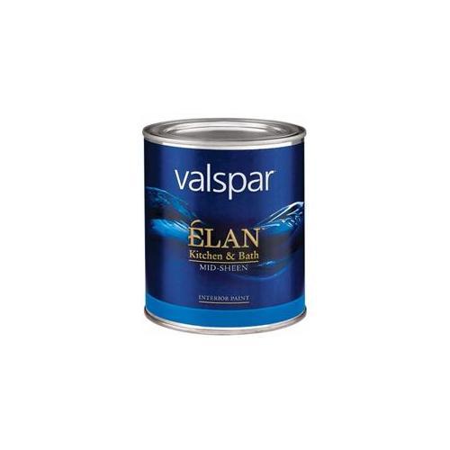 Valspar Brand 1 Quart Tint Base ?lan Kitchen & Bath Mid-Sheen Interior Paint 15