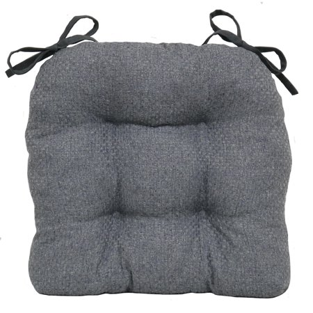 Furniture Foam Cushions (Better Homes & Gardens Shredded Memory Foam Chair Cushion, Grey Flannel,)