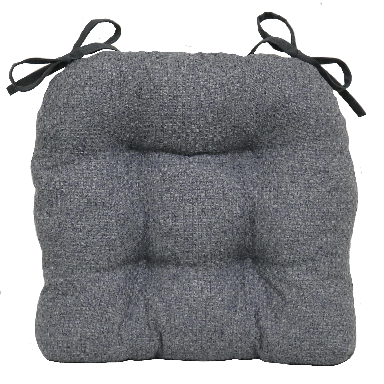 Better Homes & Gardens Shredded Memory Foam Grey Chair Pad