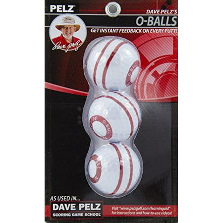 Pelz Golf DP4016 O-Ball (3 Pack)