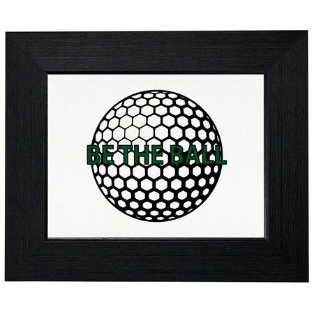 Be The Ball - Caddy Shack Golf Ball - Classic Framed Print Poster ...