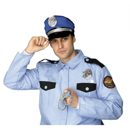 Policeman Instant Kit Adult Halloween - Policeman Costume For Men