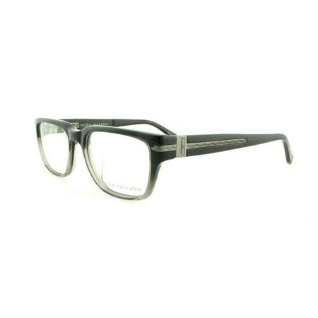 JOHN VARVATOS Eyeglasses V350 Black Gradient (Gradient Eyeglass Frames)