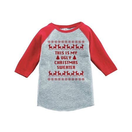 Custom Party Shop Youth This Is My Ugly Christmas Sweater Onepiece - Small (6-8) T-shirt