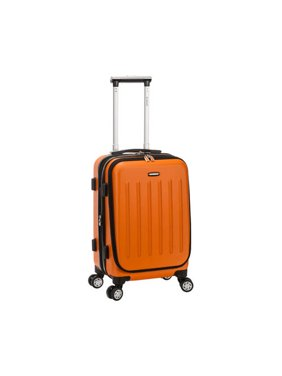 "Rockland Luggage Titan 19"" Hardside ABS Spinner Carry On Suitcase F2401"