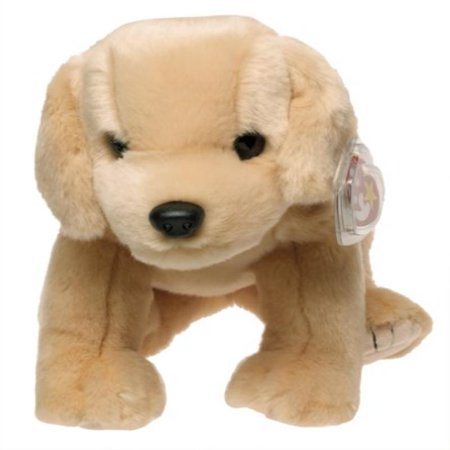 TY Beanie Buddy - FETCH the Golden Retriever Dog