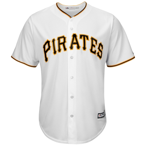 Pittsburgh Pirates Majestic Official Cool Base Jersey - White