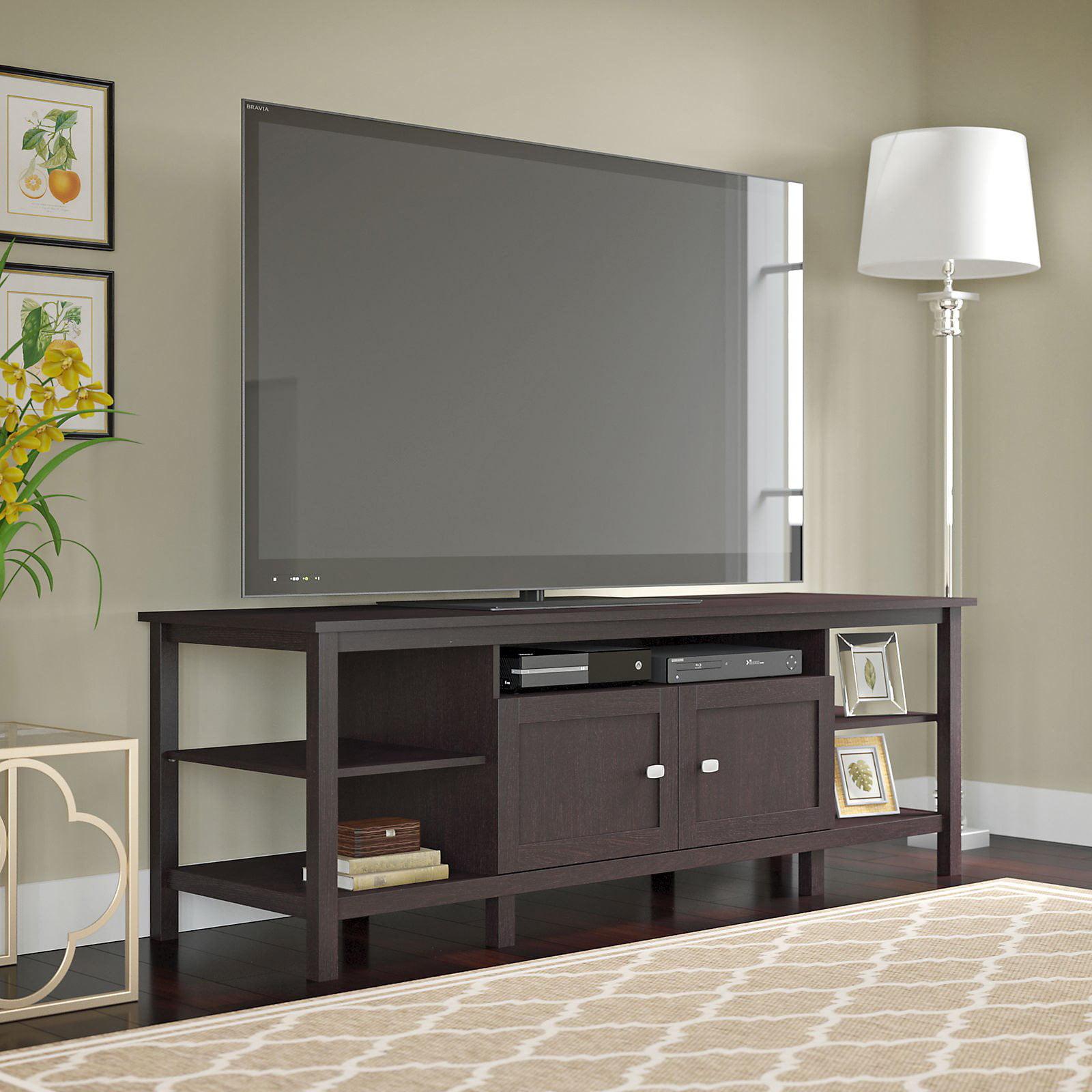 Broadview 72 in. TV Stand - Espresso Oak