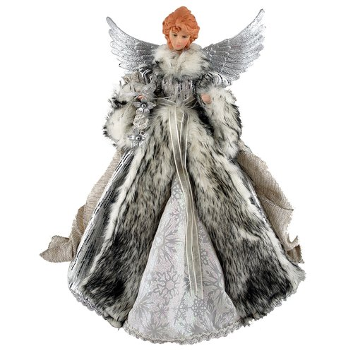 Astoria Grand Siberian Snow Angel Tree Topper Walmartcom