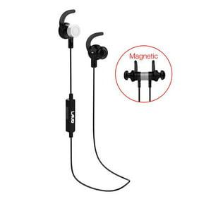 Bluetooth Earbuds Earphones Headsets Magnet Wireless Stereo Earbud Bass Sports Headphones With Mic Black Walmart Com Walmart Com
